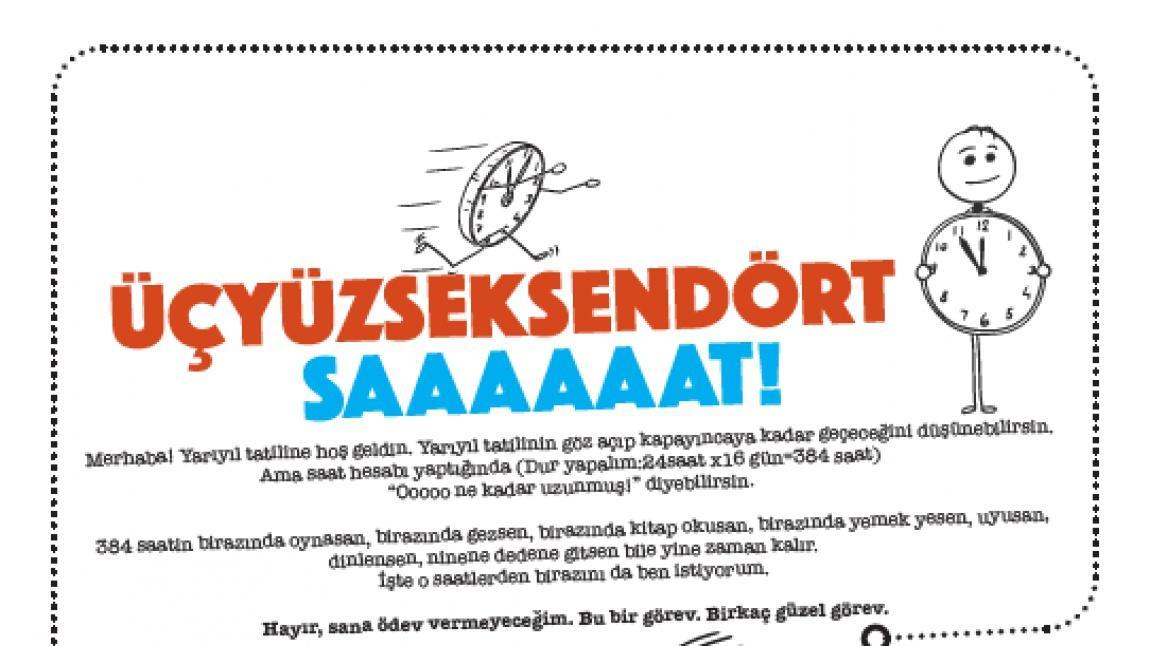Meb Yari Yil Tatili Etkinligi Mehmet Akif Ersoy Ilkokulu